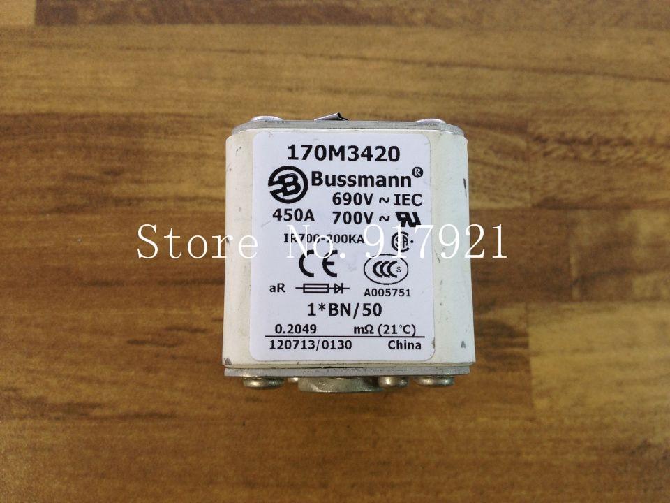 [ZOB] The United States Bussmann 170M3420 450A 690V fuse fuse original authentic  --2pcs/lot