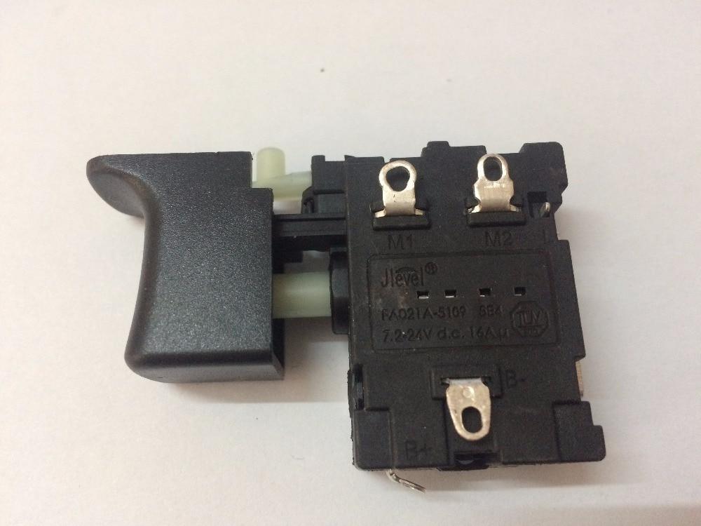FA021A-5109 16A DC Jlevel electric drill switch FA021A