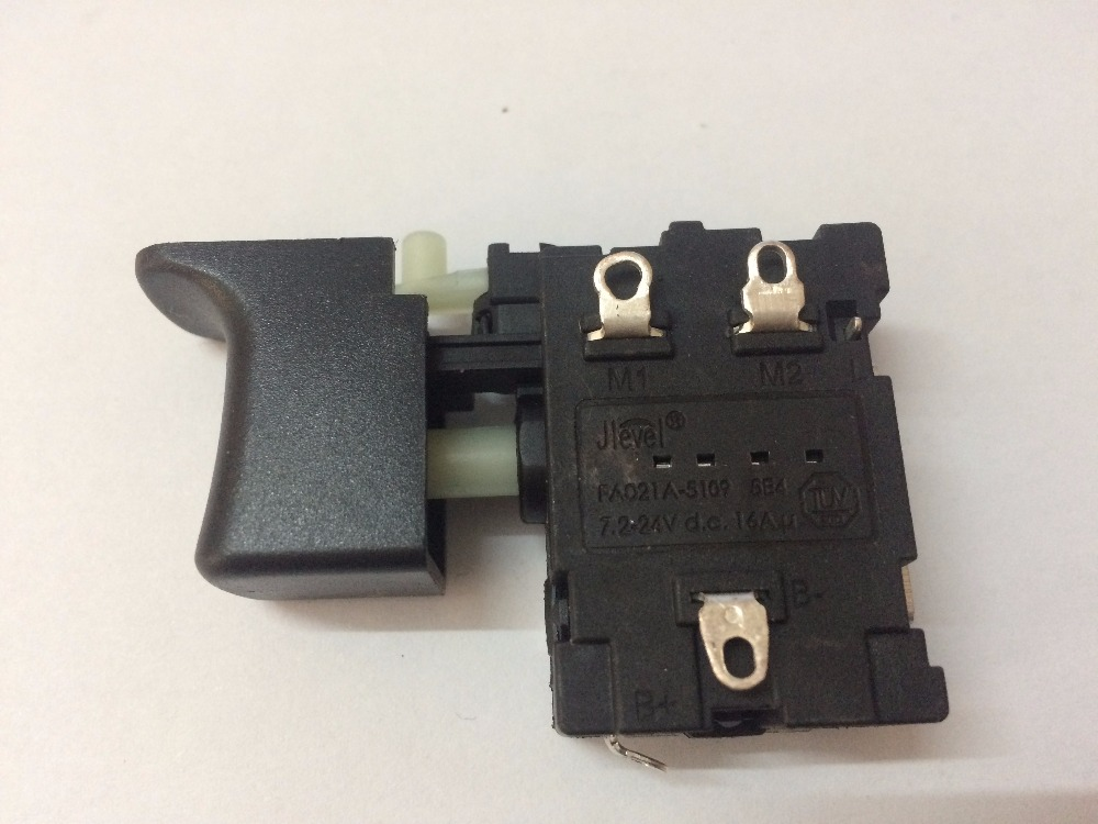 FA021A-5109 16A DC Jlevel perceuse électrique interrupteur FA021A