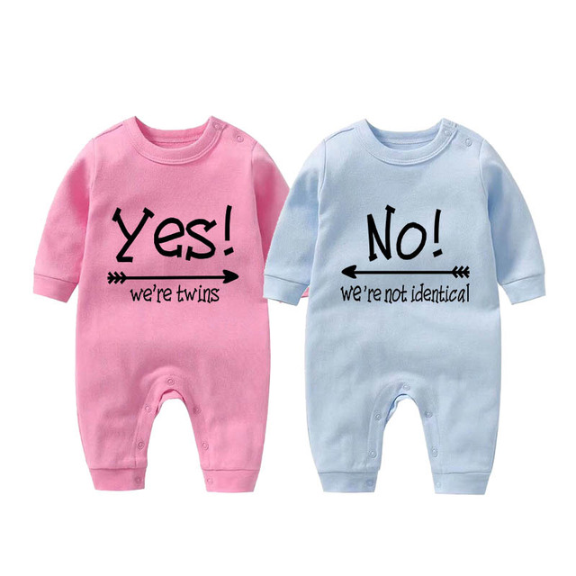 700cac127 Culbutomind Funny Baby Bodysuit Unisex Baby YES NO Baby Shower Gift ...