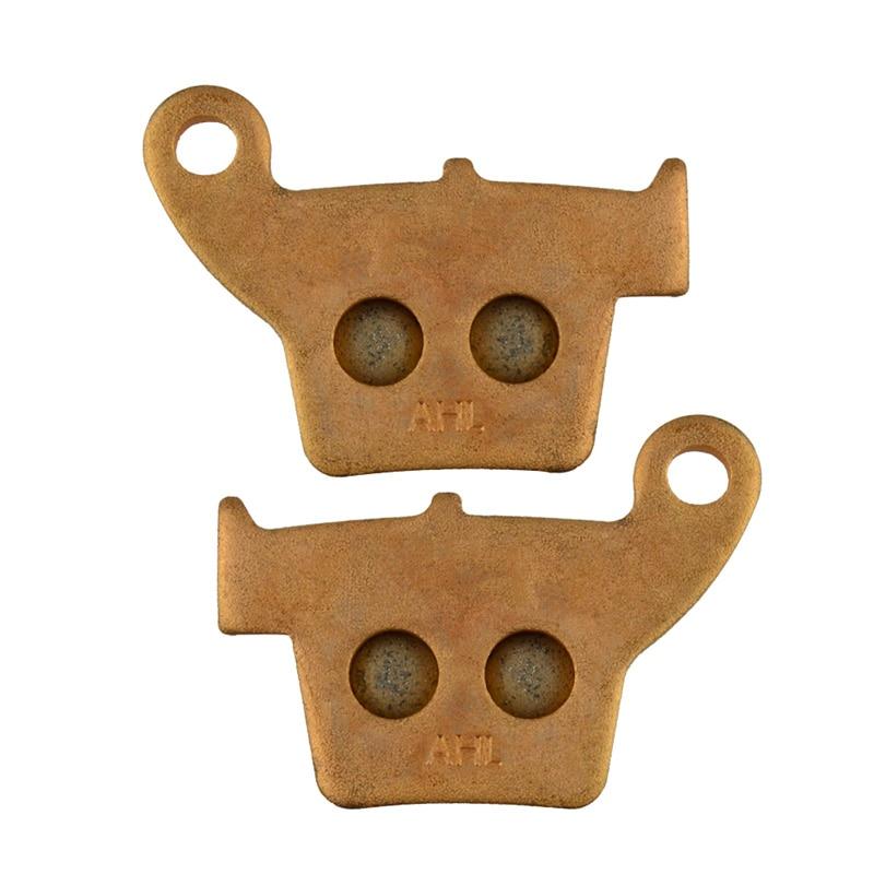 Motorcycle Parts Copper Based Sintered Brake Pads For HONDA CRF250 CRF 250 X4/X5/X6/X7/X8 2004-2011 Rear Motor Brake Disk #FA346 motorcycle parts copper based sintered brake pads for yamaha yp250r yp 250r 250 r x max 2005 2009 rear motor brake disk fa275