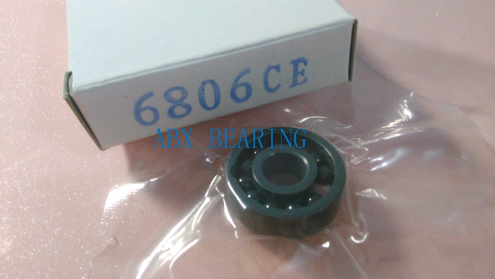 6806 full SI3N4 ceramic deep groove ball bearing 30x42x7mm 61806 full complement 6203 full si3n4 ceramic deep groove ball bearing 17x40x12mm full complement