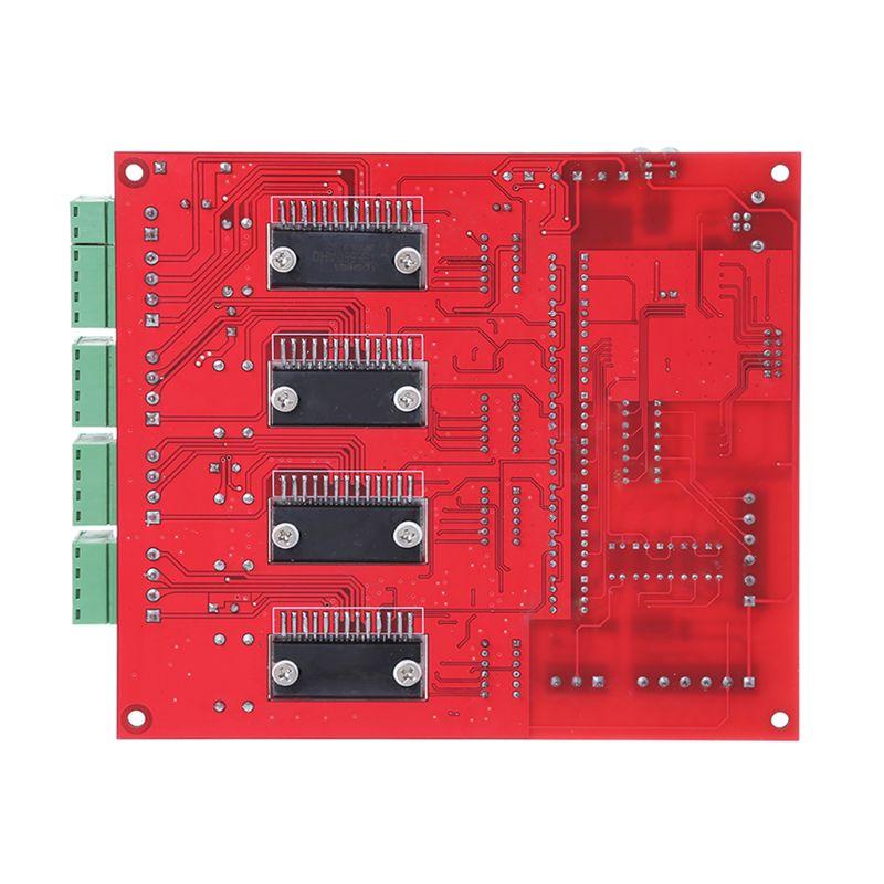 MACH3 CNC USB 100 Khz carte de dérivation 4 axes Interface pilote contrôleur de mouvement qiang