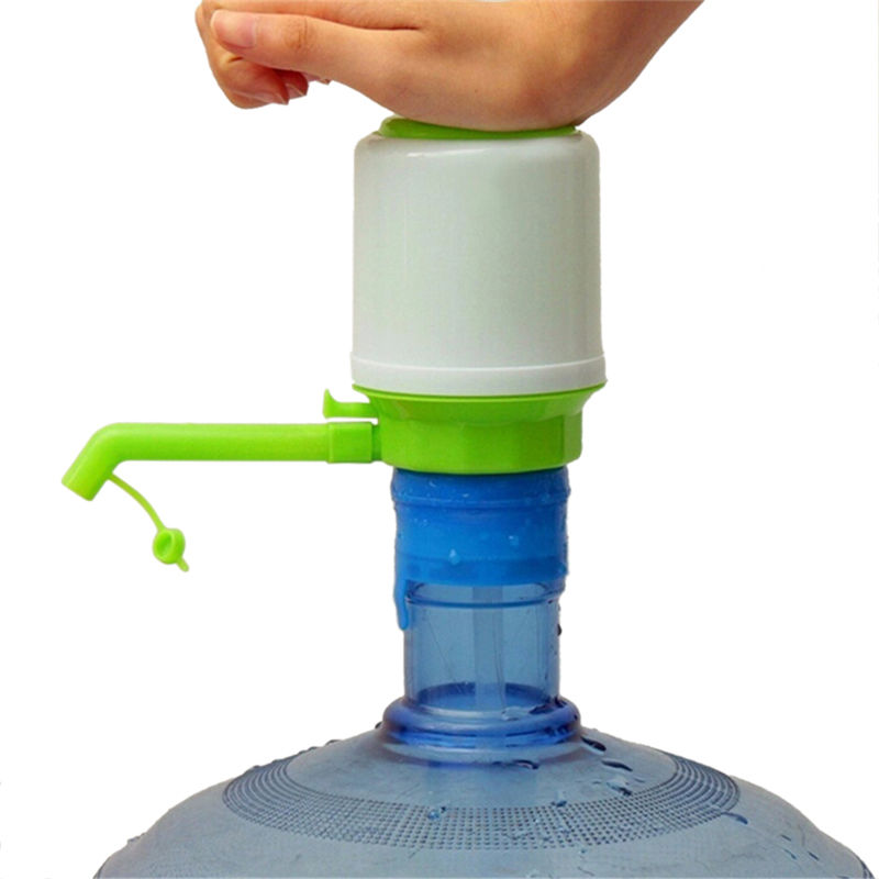 New Portable 5 Gallon Bottled Drinking Water Hand Press