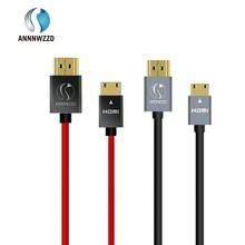 HDMI to Mini HDMI Cable Pro Gold Plated Premium Quality High Speed (Type A to Type C) for Digital Camcorders,and some tablets