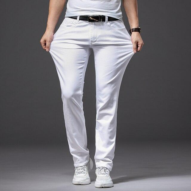Men White Jeans 3