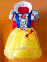 2014 Children Kids Cosplay Dresses Snow White Princess Costume Perform Clothes HOT Sale Free Shipping