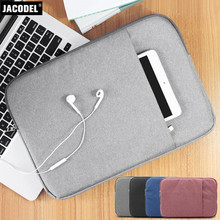 Jacodel New Fashion Laptop Sleeve Bag for Xiaomi Air 13 Macbook Pro 12 Air 11 13 Laptop Case for PC Tablet Notebook Sleeve Case