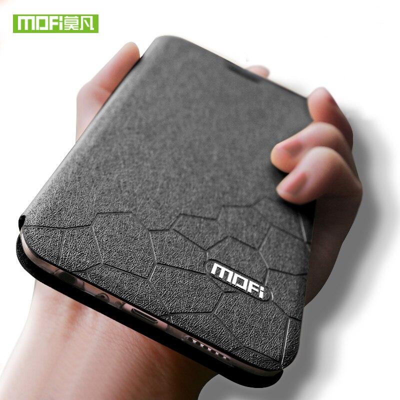 For Xiaomi Redmi Note 5 Pro Case for Redmi Note 5 Case Cover Silicone Luxury Flip Leather MOFi Case for Xiaomi Redmi Note 5 Case