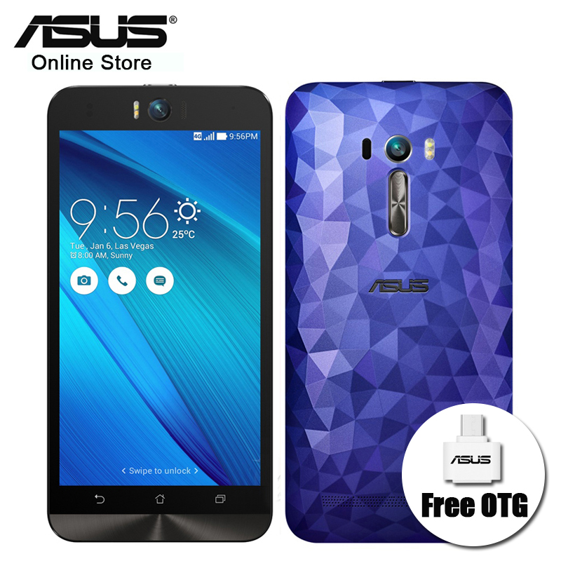 Asus Zenfone Selfie Deluxe ZD551KL 3GB RAM 32GB ROM Android4G LTE 5 5 OS Snapdragon 615
