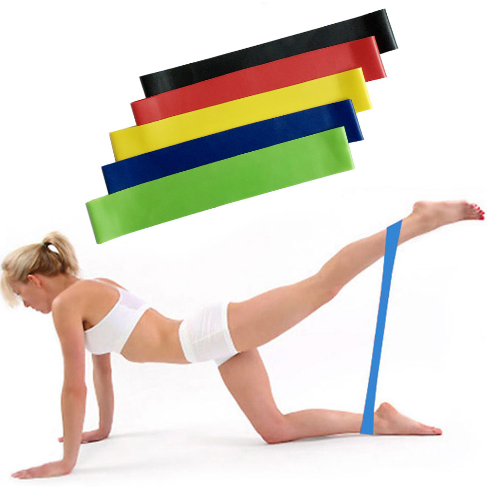 Resistance Bands Rubber Band Gum Workout Fitness Gym Equipment Loops Latex Yoga Strength Training Athletic Rubber Bands Expander