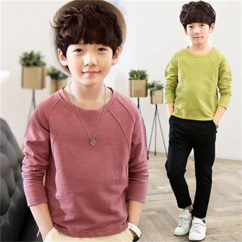 b2ca01e68136 Children s clothing boy long sleeved T shirt 2018 spring and autumn ...