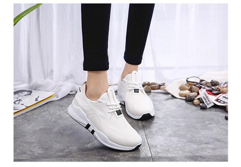 Chaussures 2 Casual Sauvage 2018 Automne 1 Respirant Tennis 3 Femmes Nouvelle De Mode qPC4qr