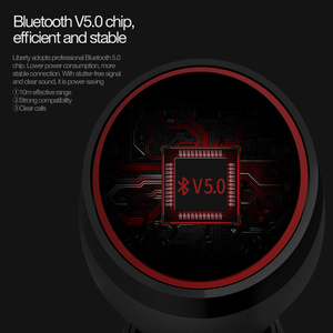 Image 5 - NILLKIN TWS 5.0 Bluetooth headphone 3D stereo wireless earphone IPX4 water resistance Handsfree Earbuds with charging case