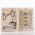 1 UNIDS CUBIERTA Bumble Bee Baraja De Cartas Por Ellusionist Bicicleta Tamaño Poker Apoyos Mágicos Trucos de Magia 81270