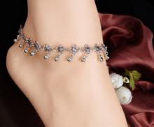 SBY0747 New Arrival Hot Sale Fashion Accessoris Gold Hollow Chain Waterdrop  Anklets Foot Jewelry
