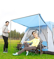 Explorer tent outdoor 3 4 people automatic thickening rain protection 5 8 families camping 8 12 people camping in the field