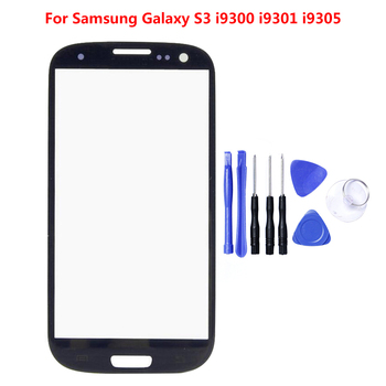 Tested For Samsung Galaxy S5 S4 S3 i9300 i9305 i9300i i9301 i9301i i9308i Front Outer Glass Touch Panel Screen Digitizer Display image