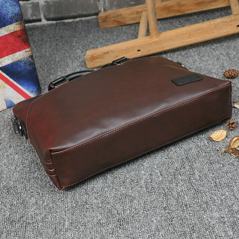 New Design PU Leather Briefcase for Men 8
