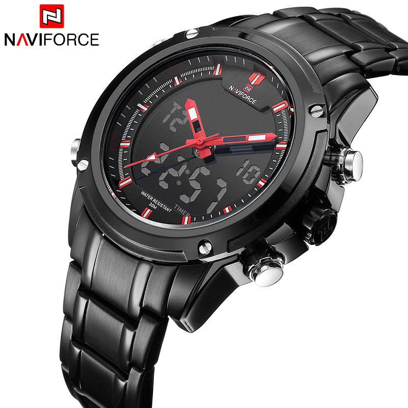 New Top Luxury Brand NAVIFORCE Men Waterproof Sports Military Watches Men's Quartz Clock Analog Wrist Watch relogio masculino