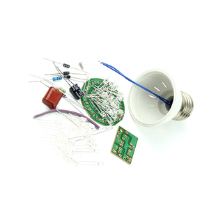 Image 4 - 1 Set Energy Saving 38 LEDs Lamps DIY Kits Electronic Suite New