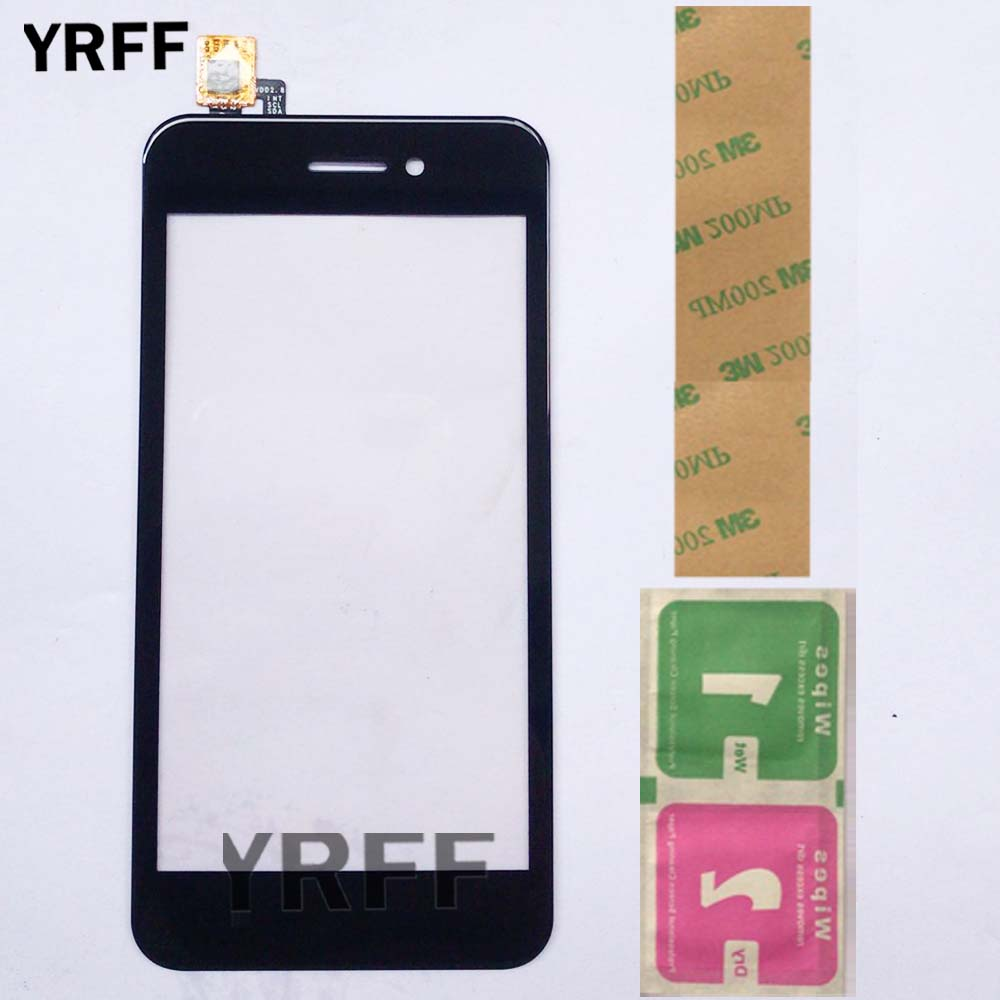 4.5'' Touch Screen Glass Digitizer Panel For Fly FS459 Nimbus 16 Touch Screen Digitizer Glass Sensor Mobile Adhesive Wipes image