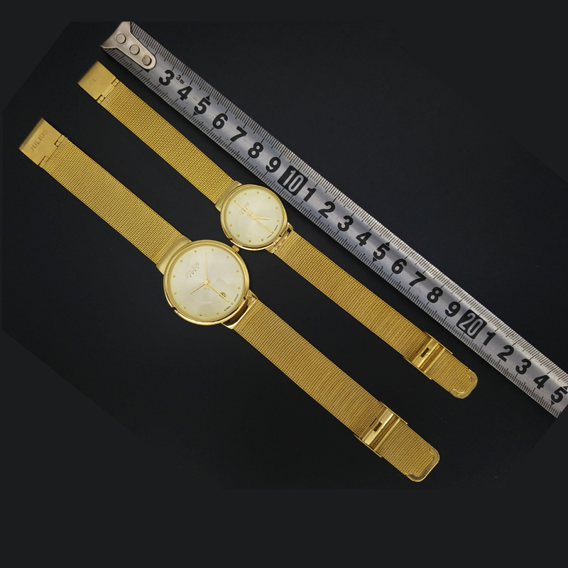 Image 5 - Thin Classic Lady Womens Watch Japan Quartz Girl Hours Fine Fashion Clock Bracelet Stainless Steel Girl Lovers Gift Julius Box-in Womens Watches from Watches on AliExpress