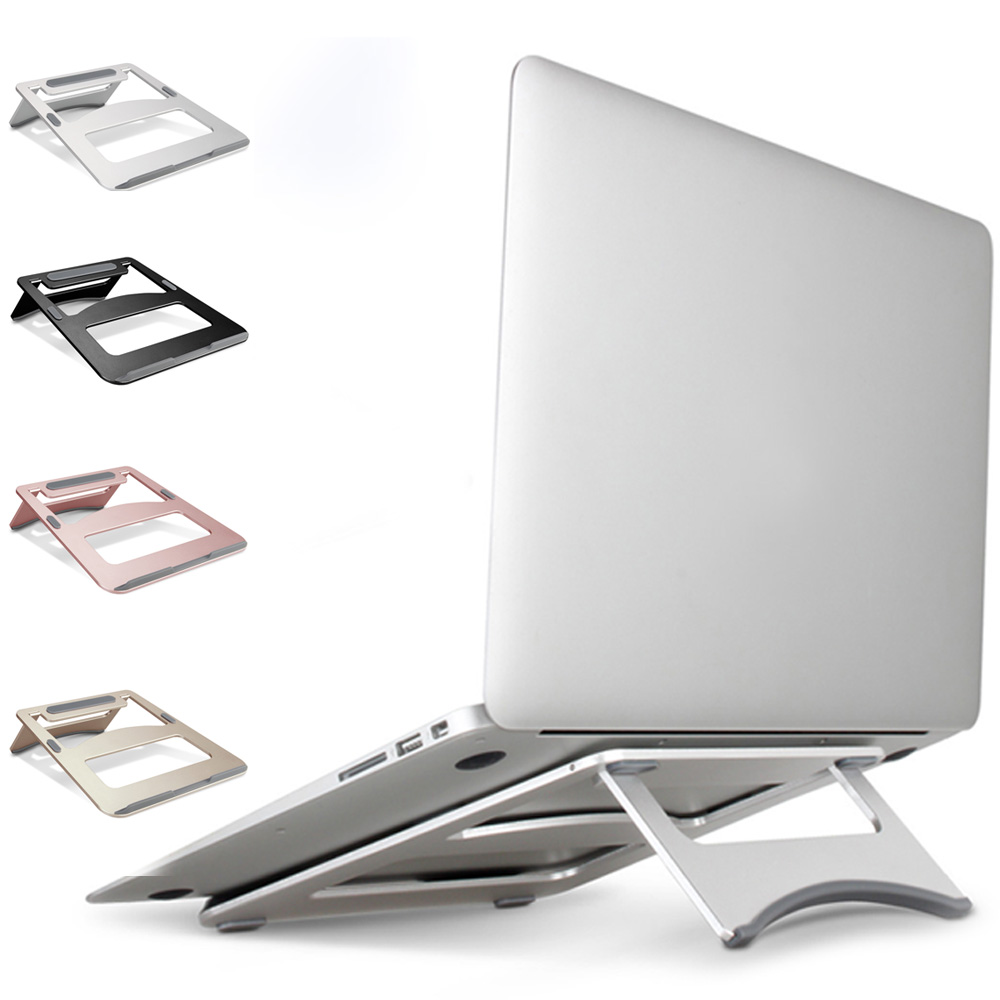 Laptop Stand Portable Tablet Holder Aluminium Laptop Stands For MacBook Air Mac Book Pro 120 Degree Tablet Mount SoporteLaptop Stand Portable Tablet Holder Aluminium Laptop Stands For MacBook Air Mac Book Pro 120 Degree Tablet Mount Soporte