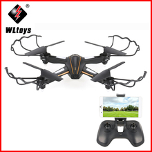 все цены на Wltoys Q616 Wi-Fi FPV 0.3MP Drone With Camera Selfie Dron Altitude Hold RC Quadcopter RTF Remote Control Helicopter Toys онлайн