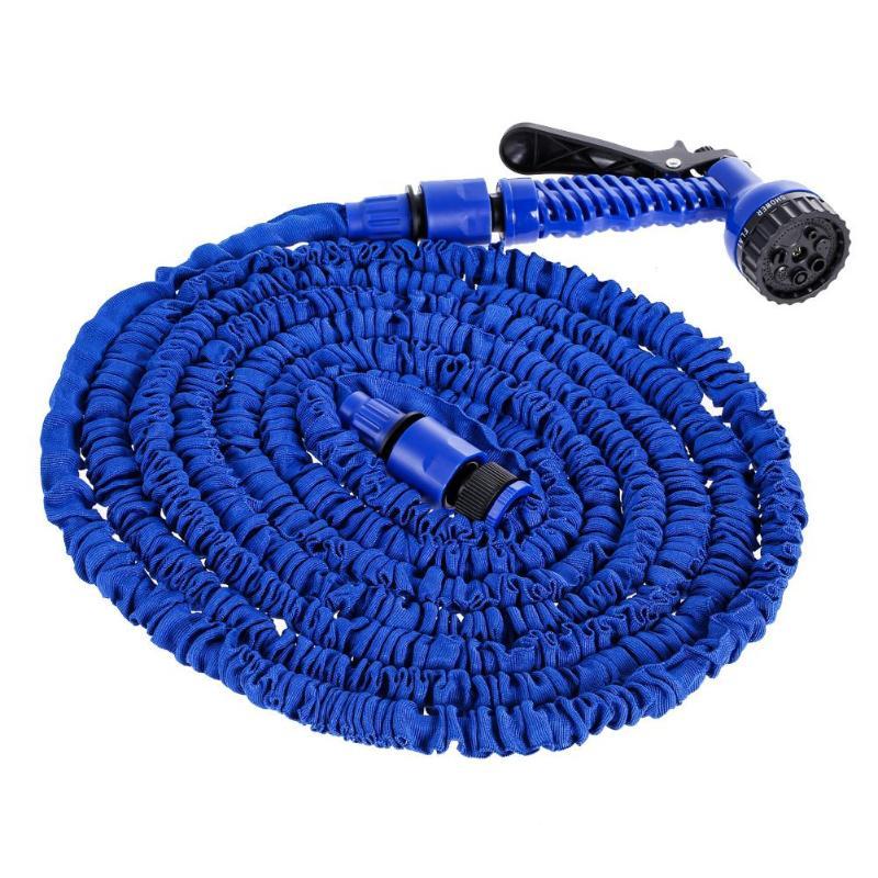 VODOOL 25/50/75/100/150/175/200FT Auto Waschen Reinigung Wasser Sprayer Kit garten Flexible Teleskop Wasser Schlauch Rohr Bewässerung Pistole