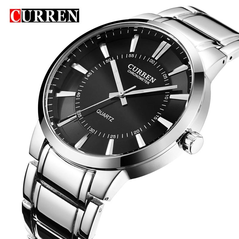 Curren Brand Luxury Elegant Watch Casual Watches Men Full Stainless Sports Quartz Military Watch Men s