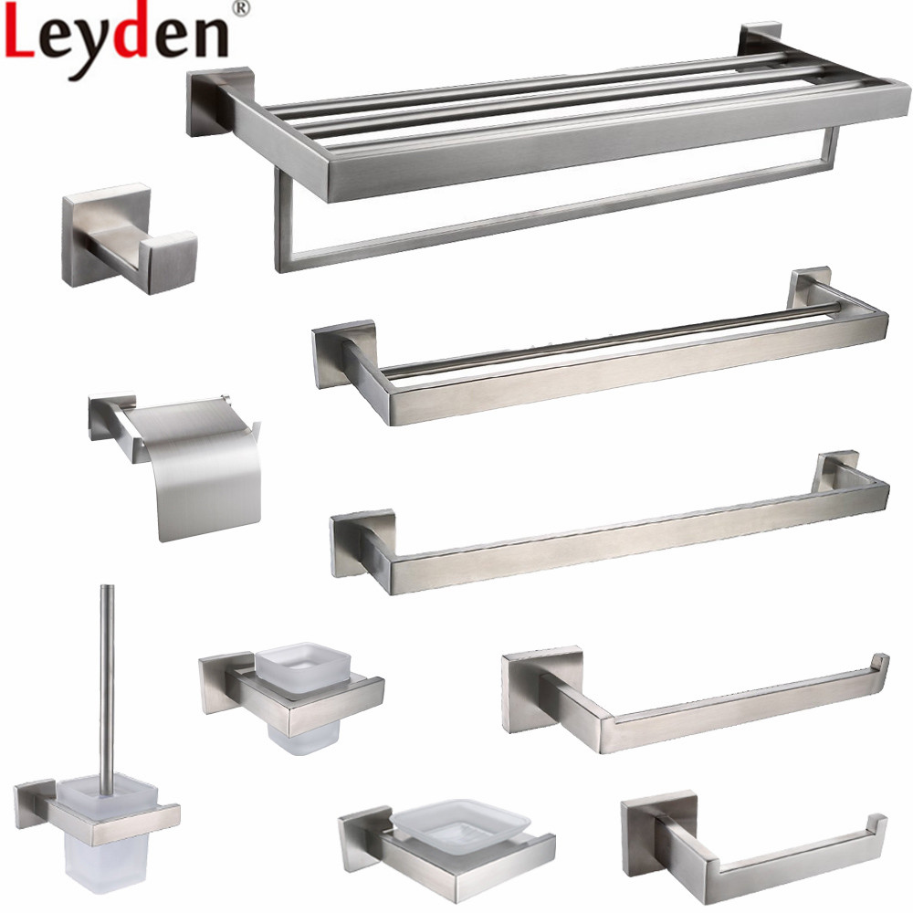 Leyden Black 304 Stainless Steel Toilet Paper Holder Wall Mounted ...
