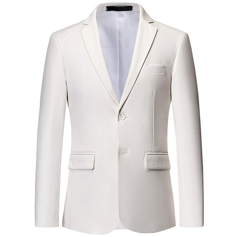 10-color Mens Suit Jacket S-6XL Blazer Business Casual Male Coat 2019 New