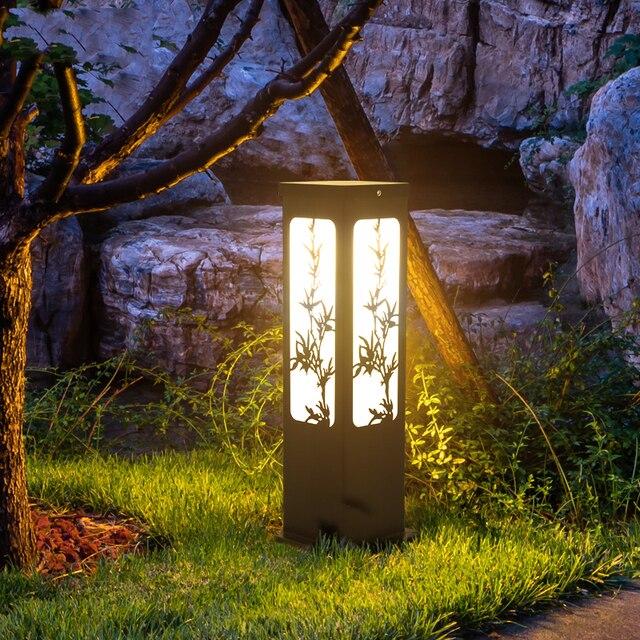 3w Outdoor Landscape Yard Garden Path Light Waterproof Led Lawn Lamp Pathway Lighting Plum Orchid