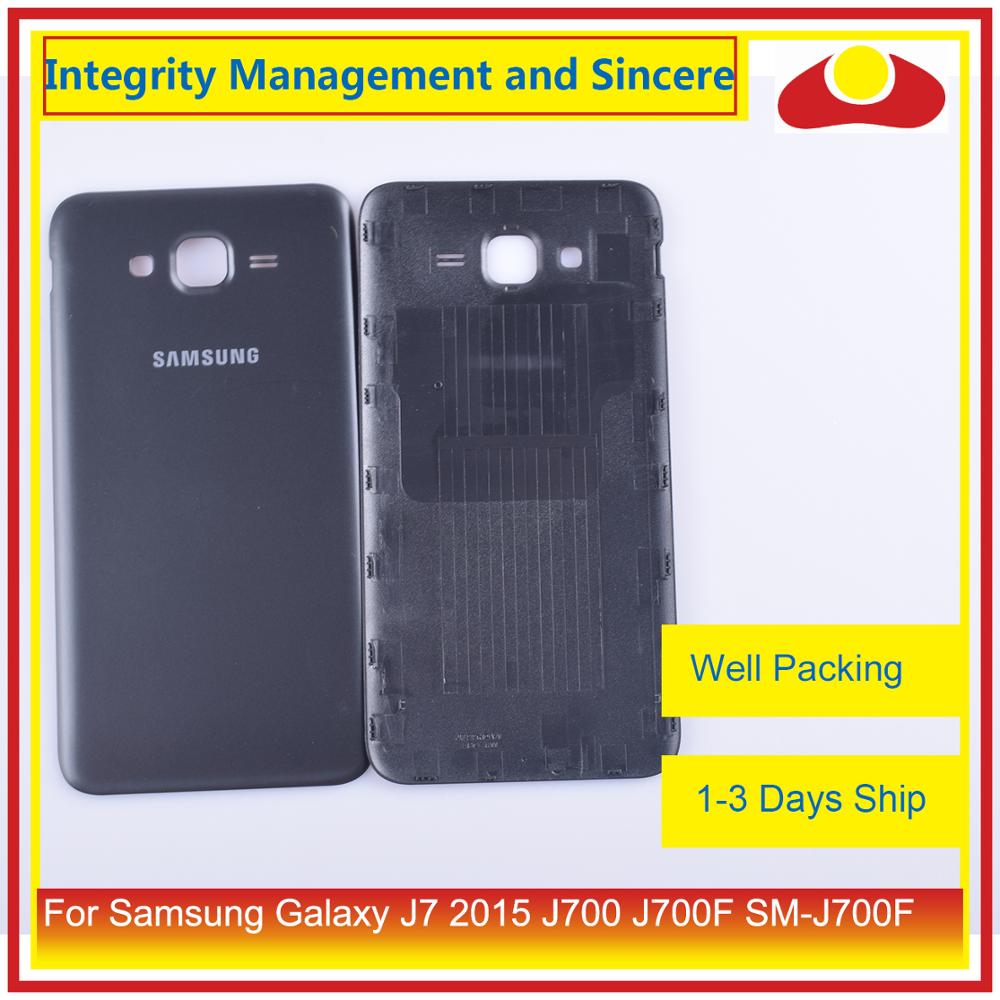 Image 5 - Original For Samsung Galaxy J7 2015 J700 J700F J700H J700M Housing Battery Door Rear Back Cover Case Chassis Shell-in Mobile Phone Housings & Frames from Cellphones & Telecommunications