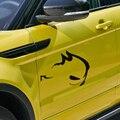 Diseño de coches de estilo CONEJO MALVADO, decoración pegatinas y calcomanías reflectantes ventana posterior del coche para VW GOLF 4 6/POLO/CC y así sucesivamente