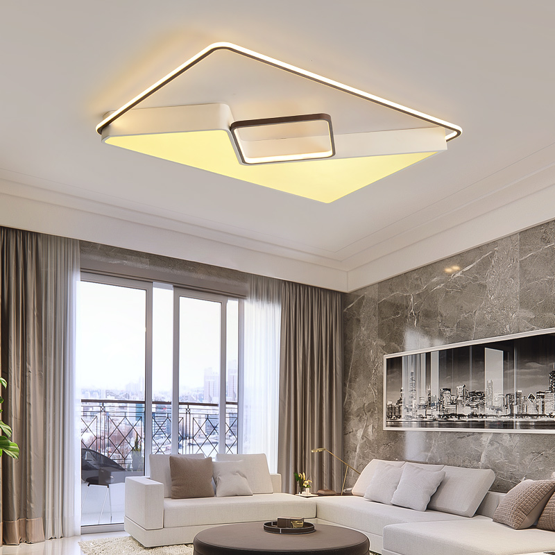 NEW White+Coffee Modern Led Ceiling Lights For Living Room Bedroom Study Room Natural white Ceiling Lamp Fixtures AC90-265VNEW White+Coffee Modern Led Ceiling Lights For Living Room Bedroom Study Room Natural white Ceiling Lamp Fixtures AC90-265V