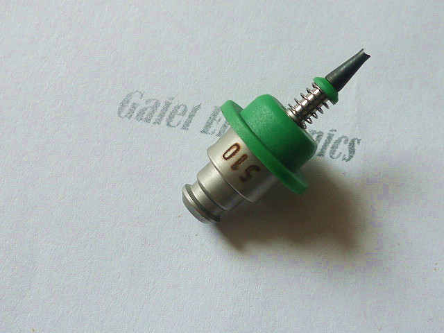 JUKI SMT NOZZLE  JUKI NOZZLE 510 ASSY  d1.5/d0.6V juki nozzle 599 smt nozzle for juki pick and place machine
