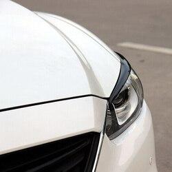 Per 2014-2015 Mazda Atenza 6 Copertura In Fibra di Carbonio Faro Sopracciglia Palpebre