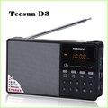 Горячая Продажа Tecsun D3 Стерео FM Радио Музыка MP3 Цифровой Песня выбор TF Карты Динамик С Встроенный Динамик Бесплатная Доставка ПРОТИВ Degen