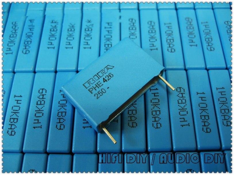 5pcs/20pcs RIFA PHE426 Series 1uF 250V 250V1uF 10% MKP Film Capacitor 105 250V105