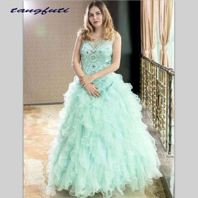 92626feafc Gorgeous Quinceanera Dresses 2018 Masquerade Ball Gowns Puffy Fully Beading  Crystals Corset Sparkly Sweet 16 Dress Quinceanera