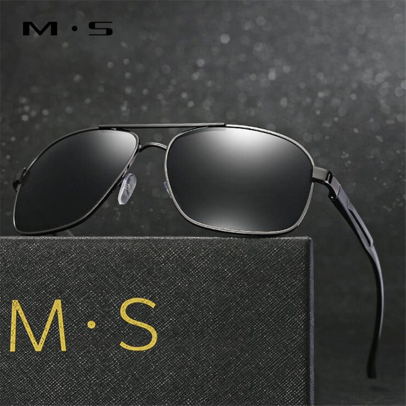 MS 2017 Polarized Sunglasses Men Driving Mirror Sun glasses Male Fishing Female Outdoor Sport Eyewear For Men S