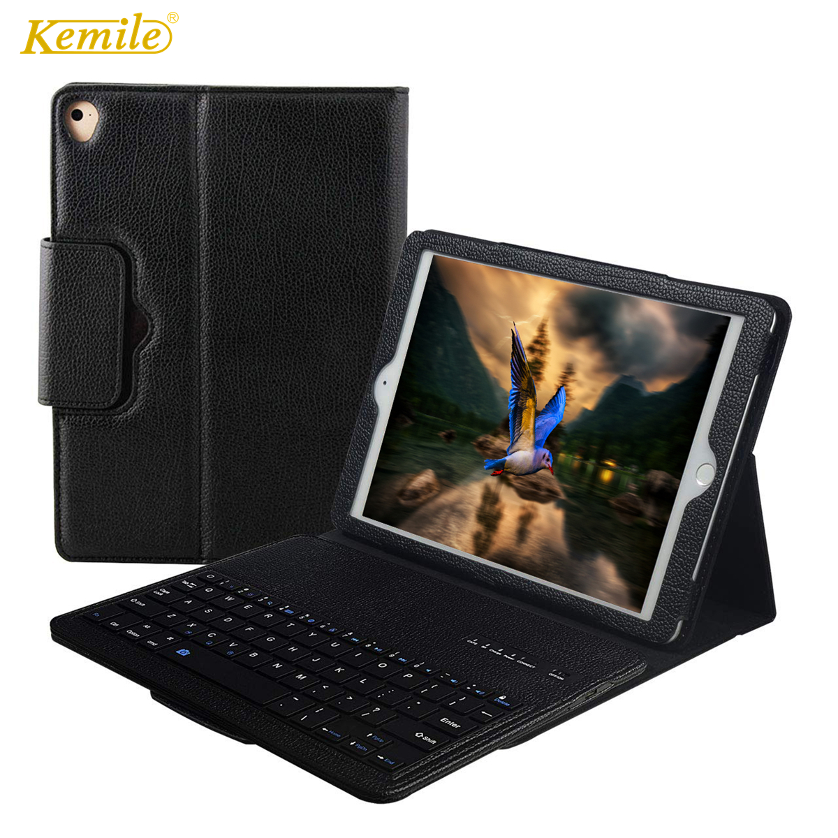 Bluetooth Keyboard Case For iPad Air 3 10.5 Leather Case Stand Detachable Smart Cover For iPad Air 3 10.5 Pro 10.5 Keypad klavye