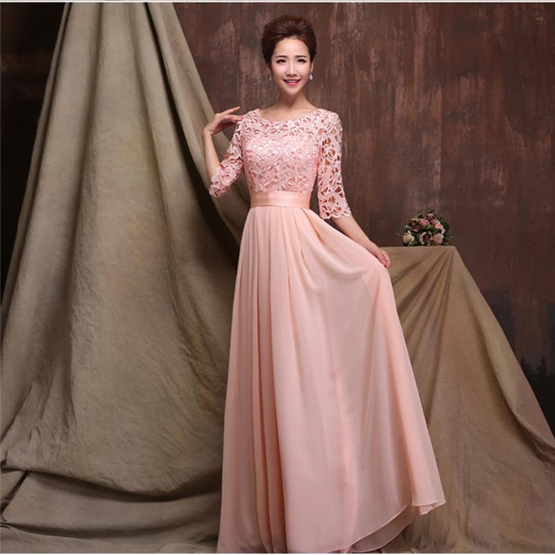 Long Sleeve Bridesmaids Dresses - Ocodea.com