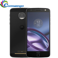 Original Motorola MOTO Z XT1650 01 4GB RAM 32GB ROM Quad Core 5.5''Android 6.0 13.0MP FNC 2560*1440 4G LTE Mobile Phone Moto