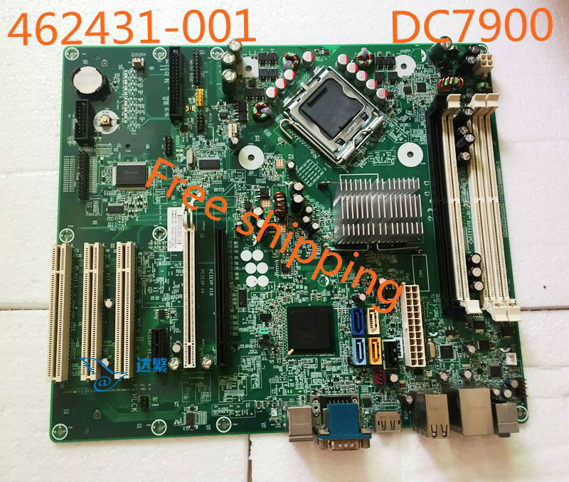 US $55 8 10% OFF|462431 001 For HP Compaq DC7900 CMT Desktop Motherboard  460963 001 Mainboard 100%tested fully work-in Motherboards from Computer &