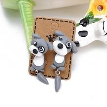 CXW Free shipping Fashion animal earrings for women classic fashion dog accessories cute ear studs K05