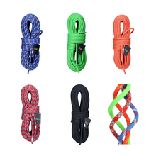 2M Camping Rock Climbing Rope 14mm Static diameter High Strength Lanyard Safety Equipment  Accessories