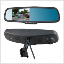 Original Bracket Rearview 4 3 blue mirror monitor parking DVR Full HD 1080P Car DVR Camera